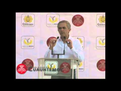 MIGUEL NGEL MANCERA EN LA CUAUHTMOC
