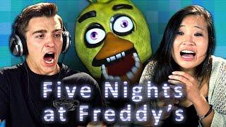 FIVE NIGHTS AT FREDDY'S (Teens React: Gaming) width=