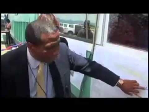 Airport Cap Haitian Update - President Martelly