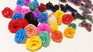getlinkyoutube.com-【樹脂粘土】薔薇っぽいの作ってみた【UVレジン】@ヤマイ