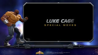 getlinkyoutube.com-Luke Cage Special Moves | Marvel Contest of Champions