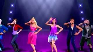 getlinkyoutube.com-Barbie the princess and the popstar - Perfect day - Music video in Greek