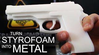 getlinkyoutube.com-How To Turn Styrofoam, Into Solid Aluminum