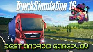 getlinkyoutube.com-Truck Simulation 16 - Android First Drive
