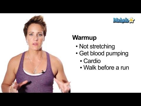 Why You Should Warm Up and Cool Down