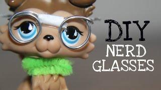 getlinkyoutube.com-DIY: Nerd Glasses (for LPS & Dolls)