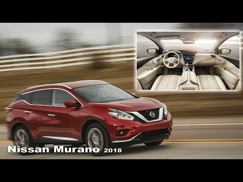 Nissan Murano 2018 - Interior and exterior | New Nissan