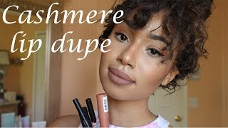 "getlinkyoutube.com-MAKEUP | Cashmere ""Dupe"" Lip Tutorial"