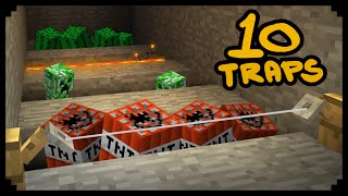getlinkyoutube.com-✔ Minecraft: 10 Ways to Make Traps