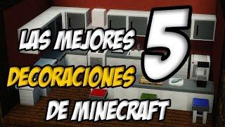 getlinkyoutube.com-Top 5 | Las Mejores Decoraciones De Minecraft  | Truco Tutorial