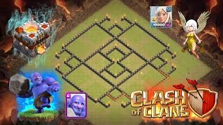 getlinkyoutube.com-Clash Of Clans - EPIC Townhall 11 War Base - 300 Walls - 2017 New Base!