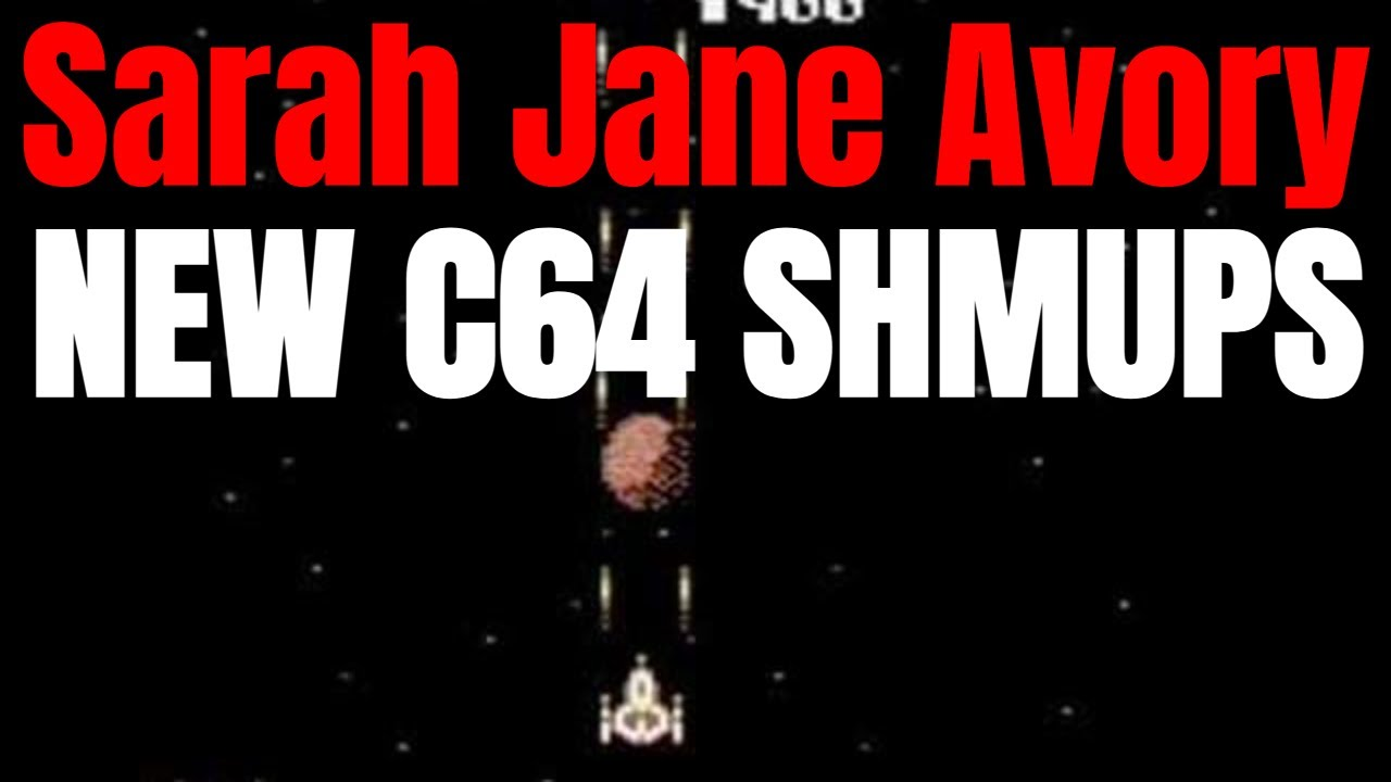 Sarah Jane Avory C64 SHMUP Collection