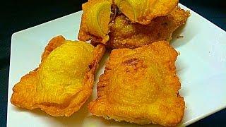 getlinkyoutube.com-Fried Egg Puffs / Cooker Egg കുക്കർ എഗ്ഗ് Snack / Iftar / Nombuthura Dish for Ramadan