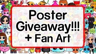 getlinkyoutube.com-Poster Giveaway and Fan Art - Draw So Cute Fan Appreciation