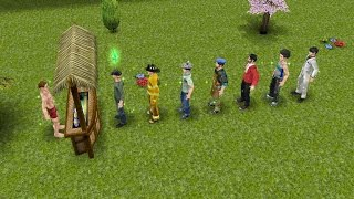 getlinkyoutube.com-Sims FreePlay - Bring All The Boys [Adult Male Costumes Video]