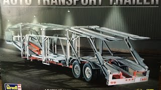 getlinkyoutube.com-Revell's Auto Transport Trailer 1:25 skill level 3 model Kit