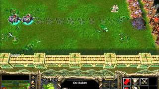getlinkyoutube.com-Warcraft 3 The Frozen Throne Castle Fight Game 1