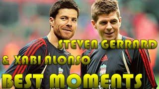 getlinkyoutube.com-Steven Gerrard and Xabi Alonso BEST MOMENTS