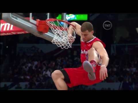 "Blake Griffin ""Arm In Rim"" Dunk: 2011 NBA Dunk Contest"