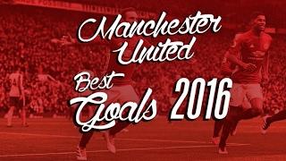 getlinkyoutube.com-Manchester United - Best Goals of 2016