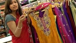 getlinkyoutube.com-Womens World - Latest Netted Churidar Designs