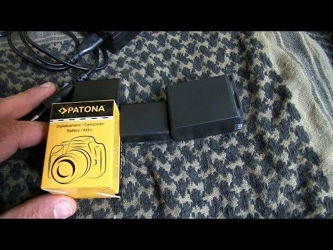 Günstige Akkus für Video- und Fotokamera (Sony, Canon) von Patona | Outdoor AusrüstungTV