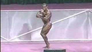 Dennis James at Mr. Olympia '01