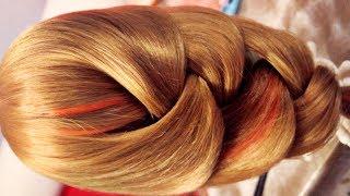 getlinkyoutube.com-Braid hairstyle - Hair tutorial - Широкая коса - Hairstyles by REM