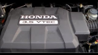 Honda J Series V6 Timing Belt Replacement PART 1