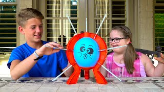getlinkyoutube.com-Boom Boom Balloon!  (MattyBRaps vs Sarah Grace)
