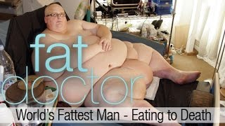 getlinkyoutube.com-World's Fattest Man - Eating to Death - 900 lbs Paul Mason consumes 20,000 calories a day