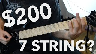 $200 Jackson 7 String? - Metal Demo