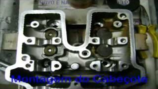 getlinkyoutube.com-CBX250 TWISTER MONTAGEM DO MOTOR