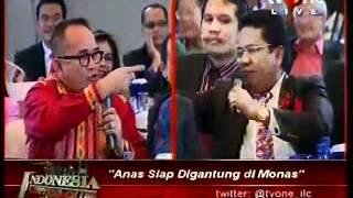 getlinkyoutube.com-Ruhut vs Hotman (indonesia lawyers club)