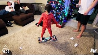 getlinkyoutube.com-Youngest Kid To Ride Hoverboard
