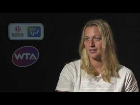 2016 Wuhan Semifinal Interview | Petra Kvitova