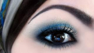 getlinkyoutube.com-Makeup Tutorial: Seductive Smokey Sky مكياج سماوي دخاني