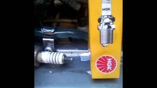 explicación bujía para Yamaha rx 115