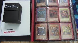 getlinkyoutube.com-Massive $100.00 Yugioh Card Collection Box Opening! Binders, Mats, Deck Box Plus More!!