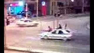 getlinkyoutube.com-GREEK POLICE Street Racing