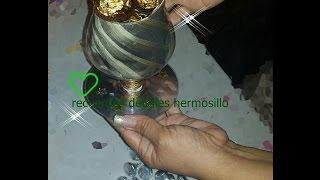 getlinkyoutube.com-DIY Como hacer Copa para regalar a papá con botellas de refresco pet