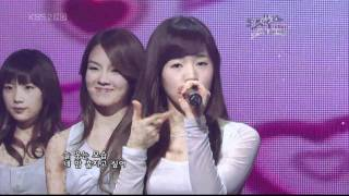 getlinkyoutube.com-1080p SNSD 080321 Baby Baby @ 音樂銀行