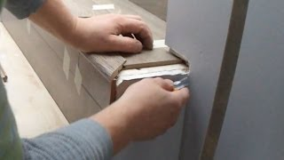 getlinkyoutube.com-Open Sided Laminate Stairs Installation: Stair Nose Problem