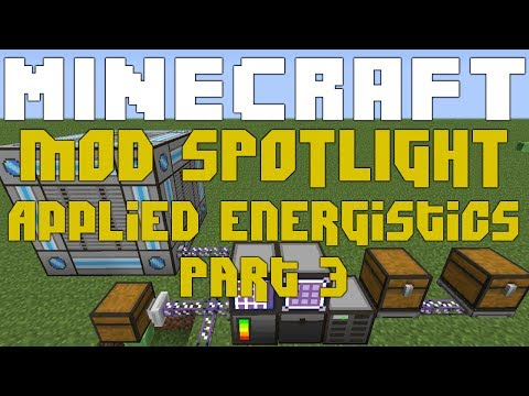Mod Spotlight Applied Energistics 1.6.4 rv14 Part 3 - P2P Tunnels & Spatial Pylons