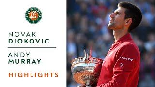 getlinkyoutube.com-Djokovic v Murray 2016 Roland-Garros Men's Highlight / Final