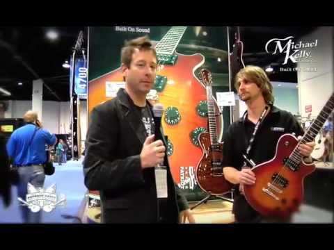Robert Egnacheski - NAMM 2009 - Michael Kelly Guitars - Patriot Supreme - High Quality