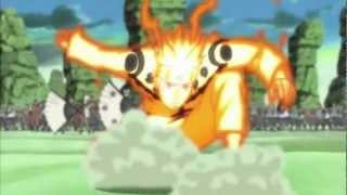 getlinkyoutube.com-Naruto AMV - Naruto vs Sandaime Raikage (Edo) HD