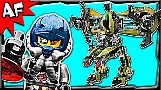 getlinkyoutube.com-Lego Ultra Agents HURRICANE HEIST 70164 Animated Building Set Review