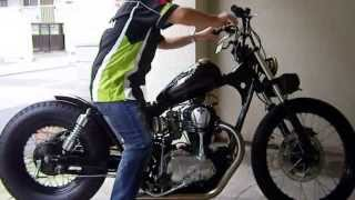 getlinkyoutube.com-Kawasaki W650 bobber