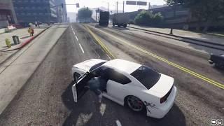 getlinkyoutube.com-GTA V Unbelievable Crashes/Falls - Episode 104